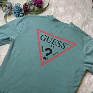 Guess Teal Sweatshirt
